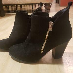 Dressy heeled booties